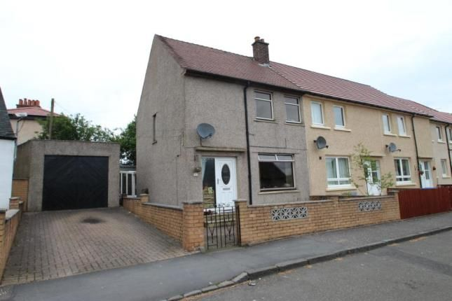 Thumbnail End terrace house for sale in Princes Street, California, Falkirk