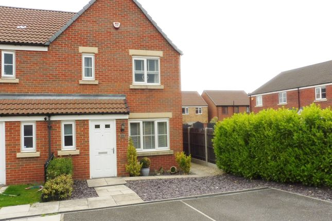 Thumbnail Semi-detached house for sale in Shepherd Way, Royston