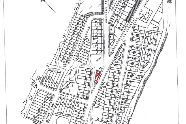 Land for sale in Park Road, Cwmparc, Treorchy, Rhondda, Cynon, Taff.