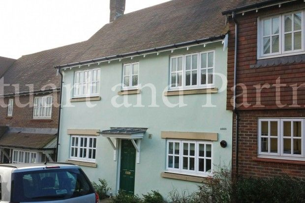Thumbnail Terraced house to rent in Middle Village, Bolnore Village