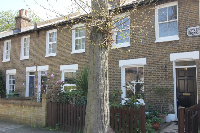 Thumbnail Terraced house to rent in Lyveden Road, London