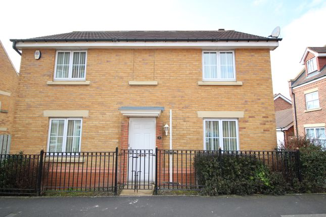 Thumbnail Detached house for sale in Sharperton Drive, Newcastle Upon Tyne