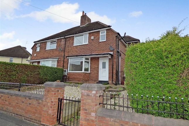 Thumbnail Semi-detached house for sale in Wilmot Drive, Knutton, Newcastle-Under-Lyme