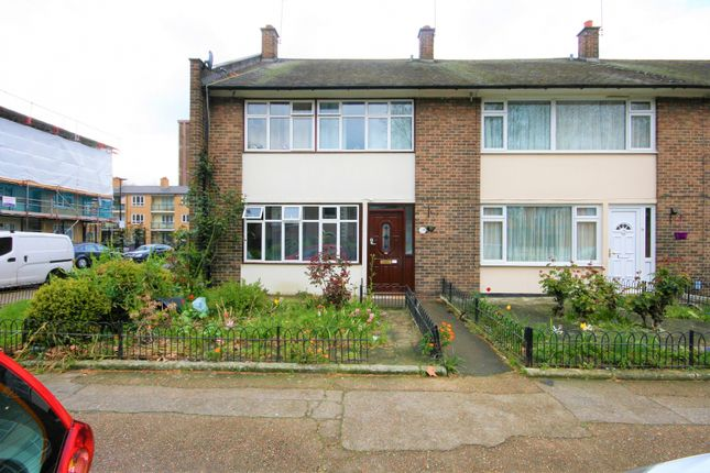 Thumbnail End terrace house for sale in Hereford Street, London
