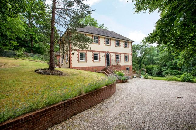 Thumbnail Detached house for sale in Slanting Hill, Hermitage, Thatcham, Berkshire