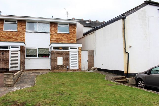 Thumbnail Terraced house for sale in Montague Close, Camberley