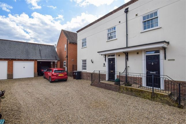 Thumbnail Semi-detached house for sale in Tyed Croft, Stanway, Colchester, Essex