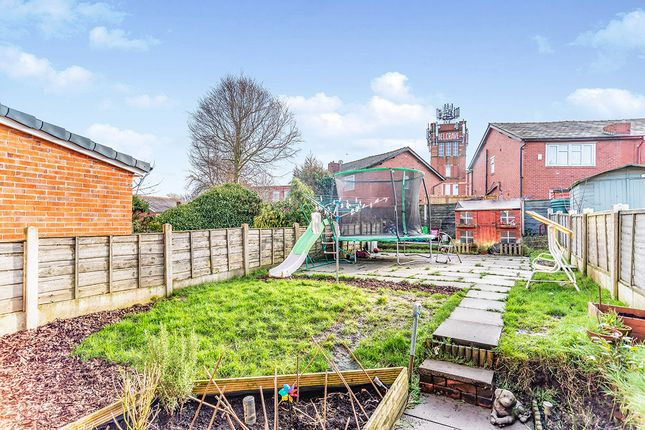 Rear Garden of Belgrave Avenue, Oldham, Greater Manchester OL8