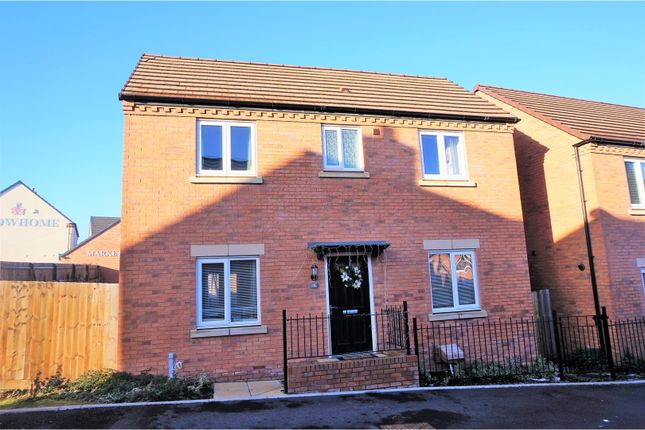 Thumbnail Detached house for sale in Lineton Close, Telford