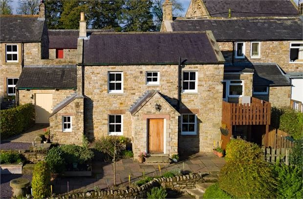 Thumbnail Cottage for sale in Woodbine Cottage, Lambley, Cumbria.