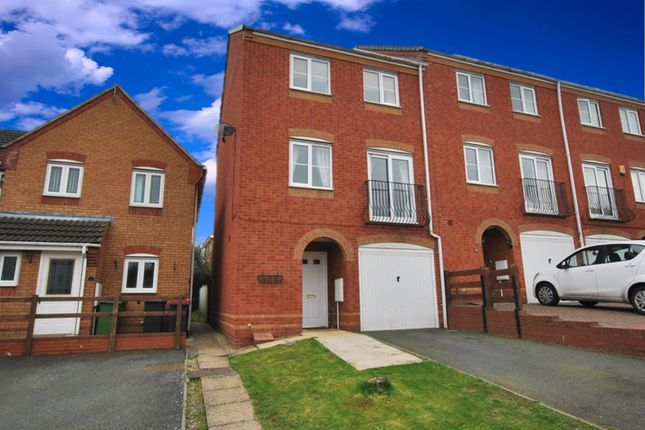 Thumbnail End terrace house for sale in Cardinals Close, Donnington Wood, Telford, Shropshire