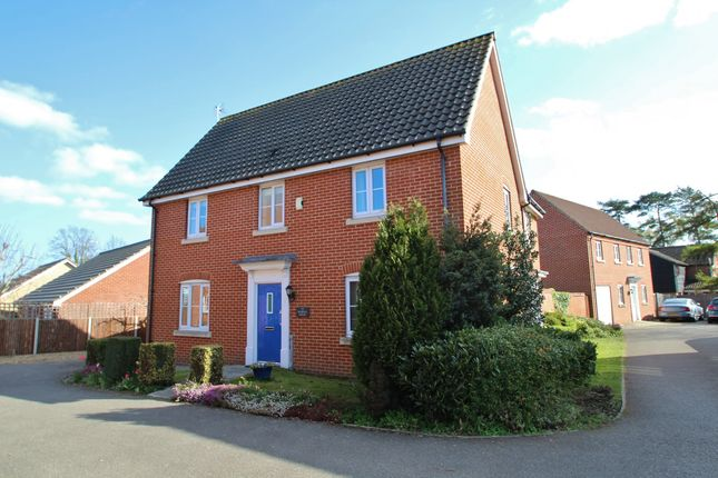 4 bed detached house for sale in Elmswell, Bury St Edmunds, Suffolk IP30
