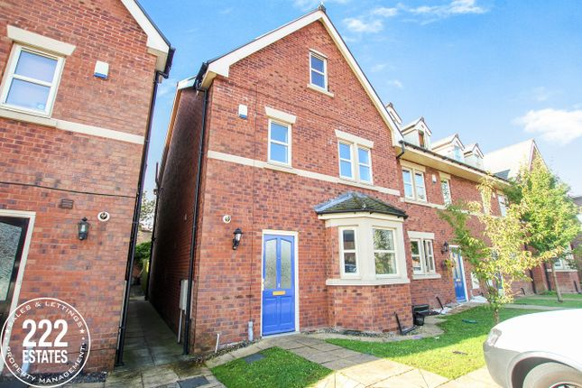 Thumbnail Town house for sale in Westbridge Mews, Paddington, Warrington