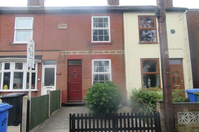 Thumbnail Terraced house to rent in Oulton Road North, Lowestoft