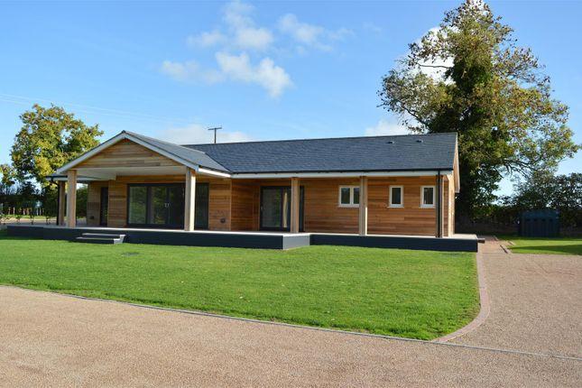 Thumbnail Lodge for sale in Kinnerley Lane, Kinnerley, Oswestry