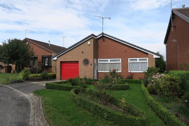 Thumbnail Detached bungalow for sale in Sandmead Croft, Churwell, Morley, Leeds