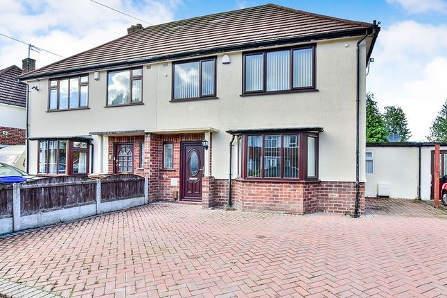 Thumbnail Semi-detached house to rent in Brandon Avenue, Heald Green, Cheadle