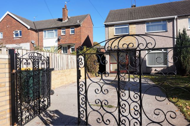 Thumbnail Semi-detached house for sale in Tees Close, Newport