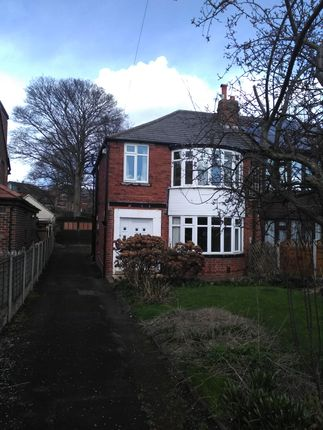 Thumbnail Semi-detached house to rent in Kedleston Road, Roundhay, Leeds