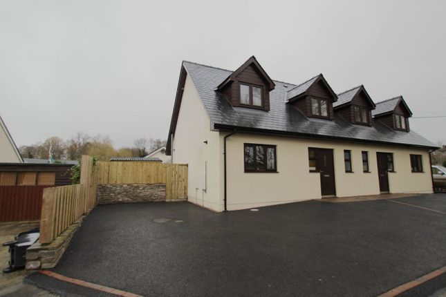 Thumbnail Semi-detached house to rent in Walnut Square, Brecon