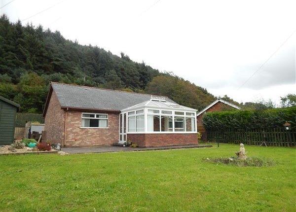 Thumbnail Detached bungalow for sale in Ty Canol, Cwm Farm Road, Abertillery