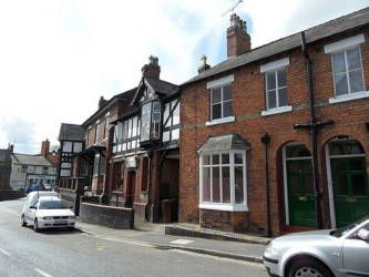 Thumbnail Terraced house to rent in Rock Terrace, High Street, Malpas