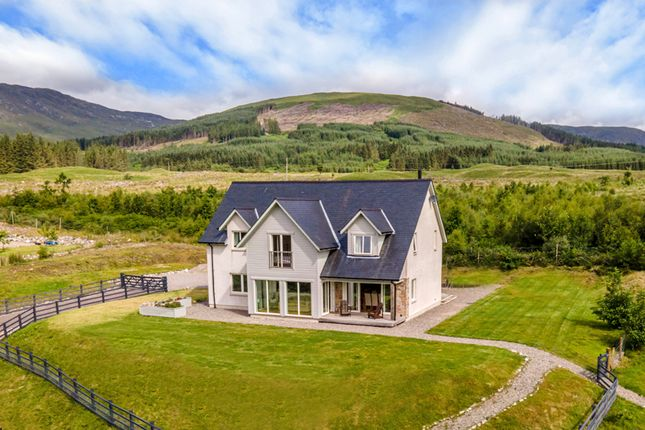 Thumbnail Detached house for sale in Fassfern, Kinlocheil, By Fort William