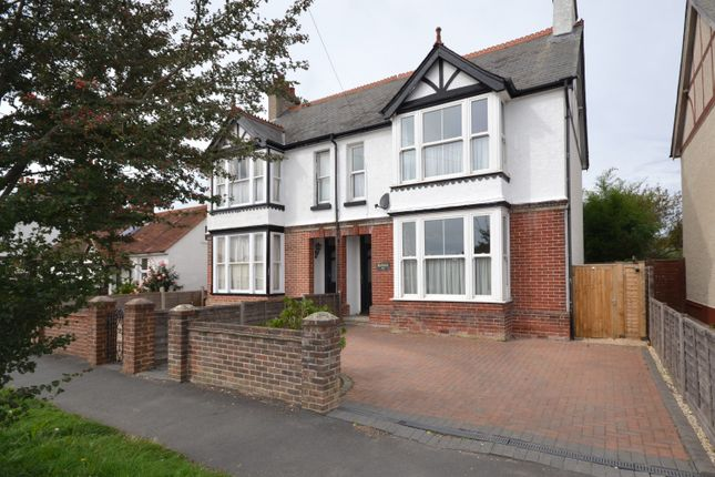Thumbnail Semi-detached house for sale in Manor Road, Selsey