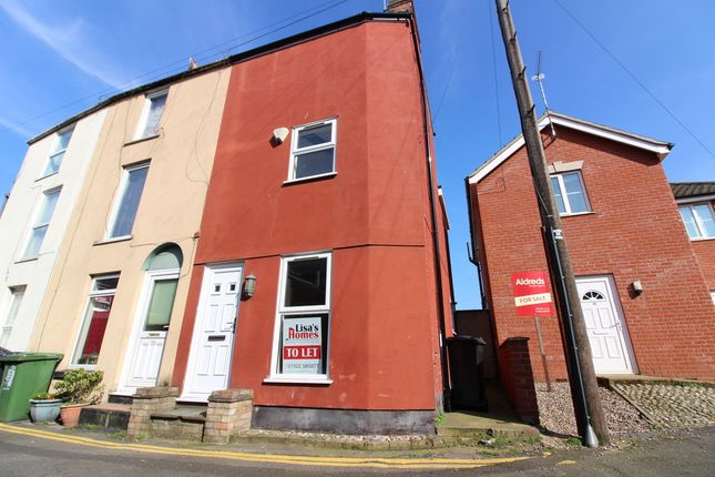 Thumbnail Terraced house to rent in Gordon Terrace, Crown Road, Great Yarmouth