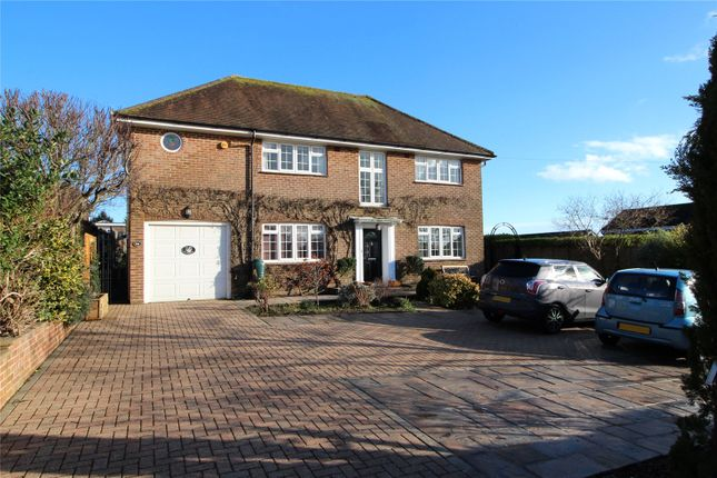 Thumbnail Detached house for sale in Salvington Hill, High Salvington, Worthing, West Sussex
