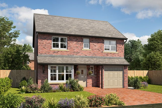 """Thumbnail Detached house for sale in """"Wellington"""" at Mayfield Avenue, Throckley, Newcastle Upon Tyne"""
