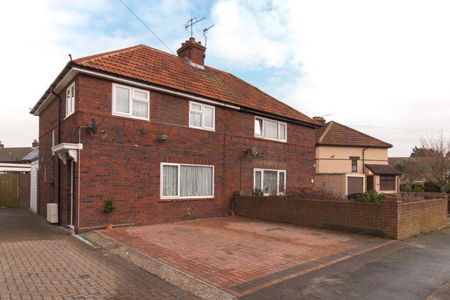 Thumbnail Semi-detached house for sale in Douglas Road, Deal