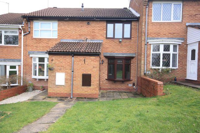 2 bed terraced house to rent in Rangeworthy Close, Walkwood, Redditch, Worcs B97