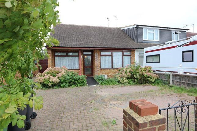 Thumbnail Semi-detached bungalow for sale in Mansted Gardens, Ashingdon, Rochford