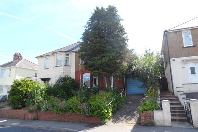 Thumbnail Semi-detached house to rent in Queens Hill Crescent, Newport