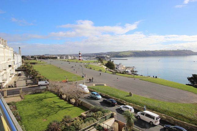 Thumbnail Flat to rent in Cliff Road, The Hoe, Plymouth