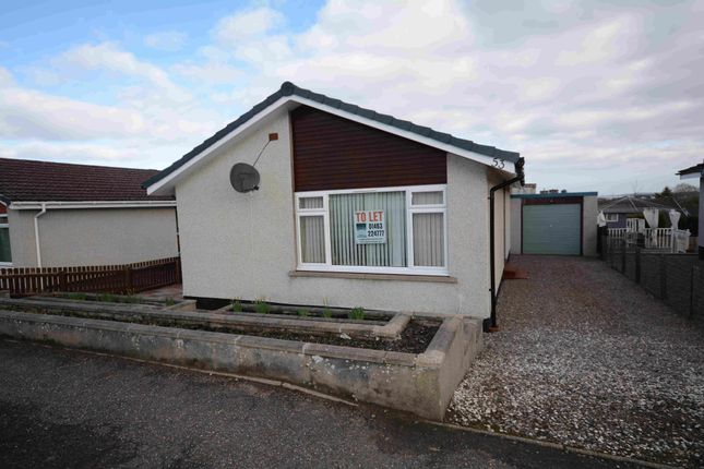 Thumbnail Detached bungalow to rent in Firthview Drive, Inverness