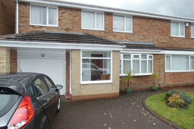 Thumbnail Semi-detached house for sale in Ashkirk Way, Seaton Delaval, Tyne & Wear