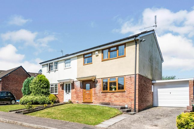 3 bed semi-detached house for sale in Sundew Close, Llandaff, Cardiff CF5