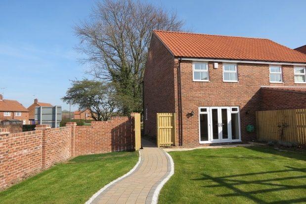Thumbnail Property to rent in Weighbridge Close, Kirkbymoorside, York