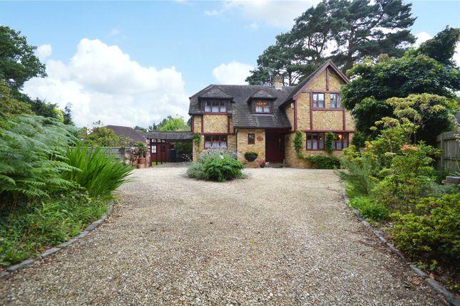 Thumbnail Detached house for sale in Sandhurst Road, Finchampstead, Berkshire