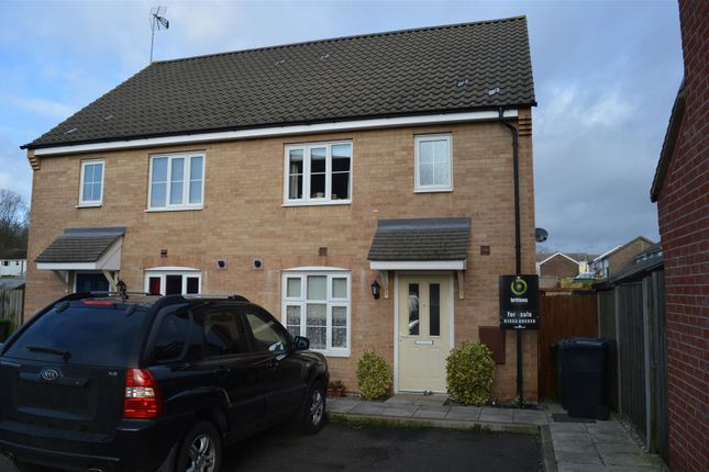 Thumbnail Semi-detached house for sale in Fred Ackland Drive, King's Lynn