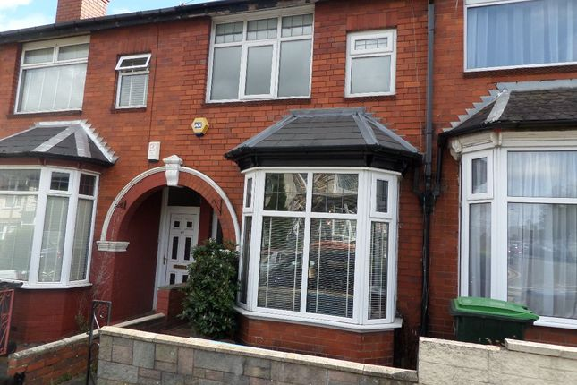 Thumbnail Terraced house for sale in Rathbone Road, Bearwood