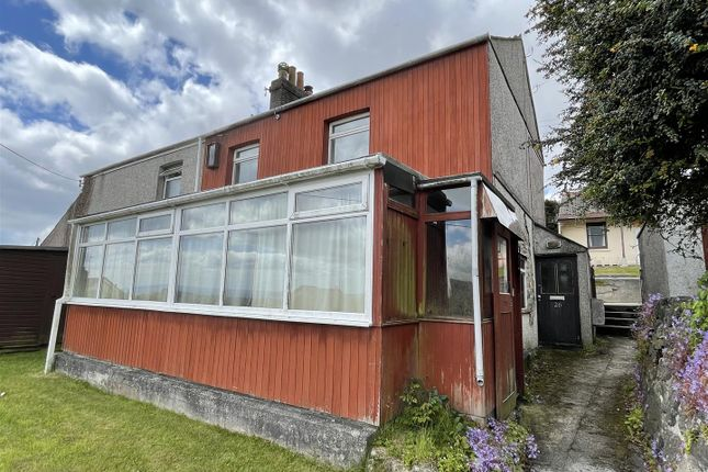 Thumbnail Semi-detached house for sale in Treverbyn Road, St Austell, St. Austell