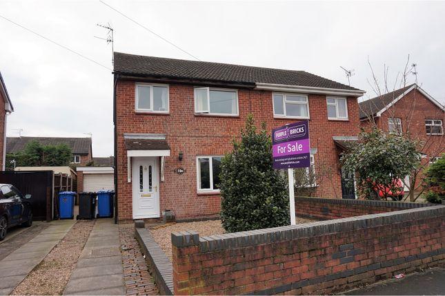 Thumbnail Semi-detached house for sale in Crayford Road, Alvaston