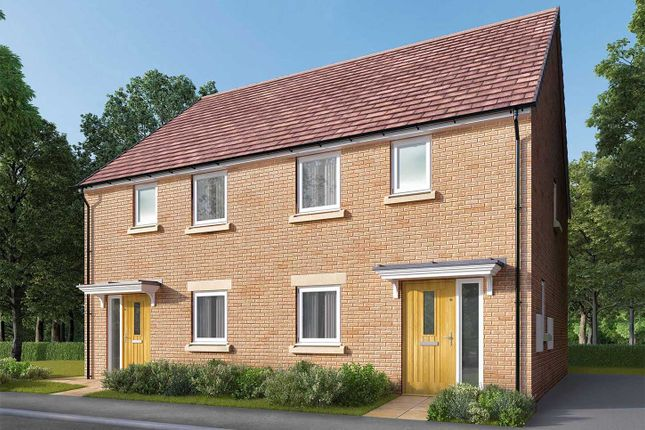 "Thumbnail Semi-detached house for sale in ""The Carlton"" at Bede Ling, West Bridgford, Nottingham"
