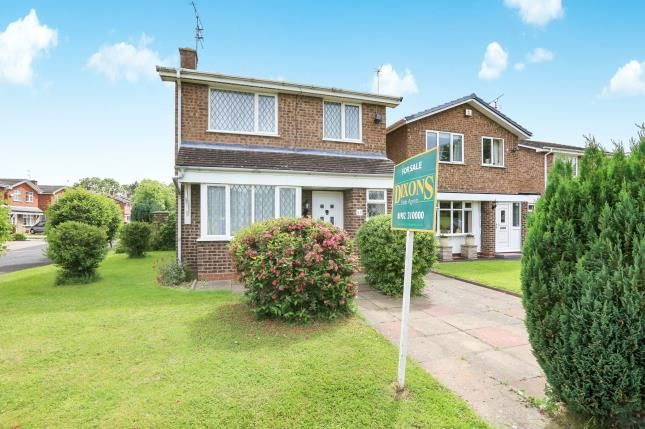 Thumbnail Detached house for sale in Halesworth Road, Pendeford, Wolverhampton, West Midlands
