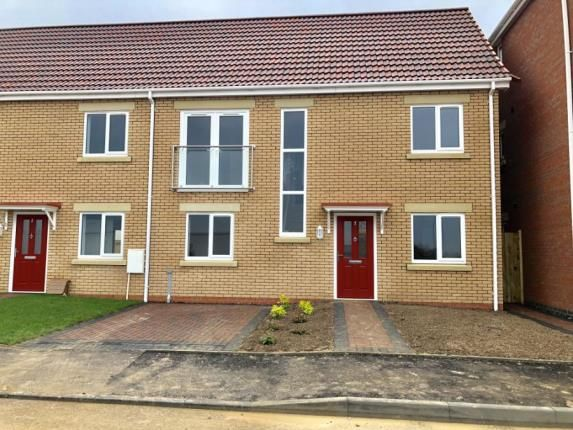 Thumbnail Semi-detached house for sale in Lumley Fields, Skegness, Lincolnshire
