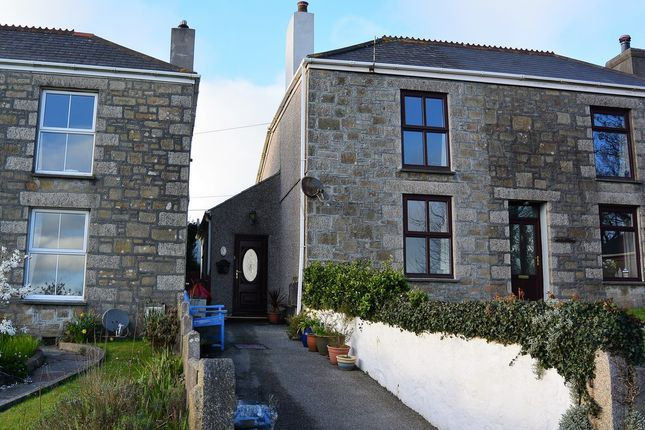 Thumbnail Terraced house to rent in Roseworthy, Camborne