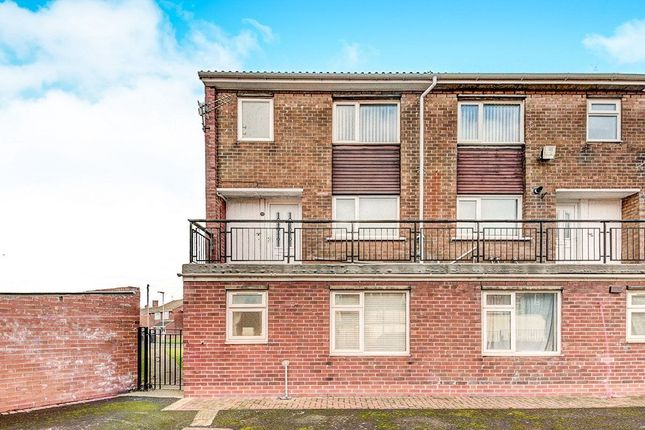 Thumbnail Flat to rent in Byron Close, Choppington